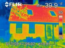 infrared house image