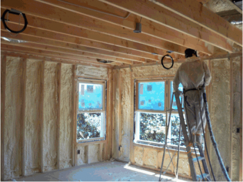 Residential spray foam services